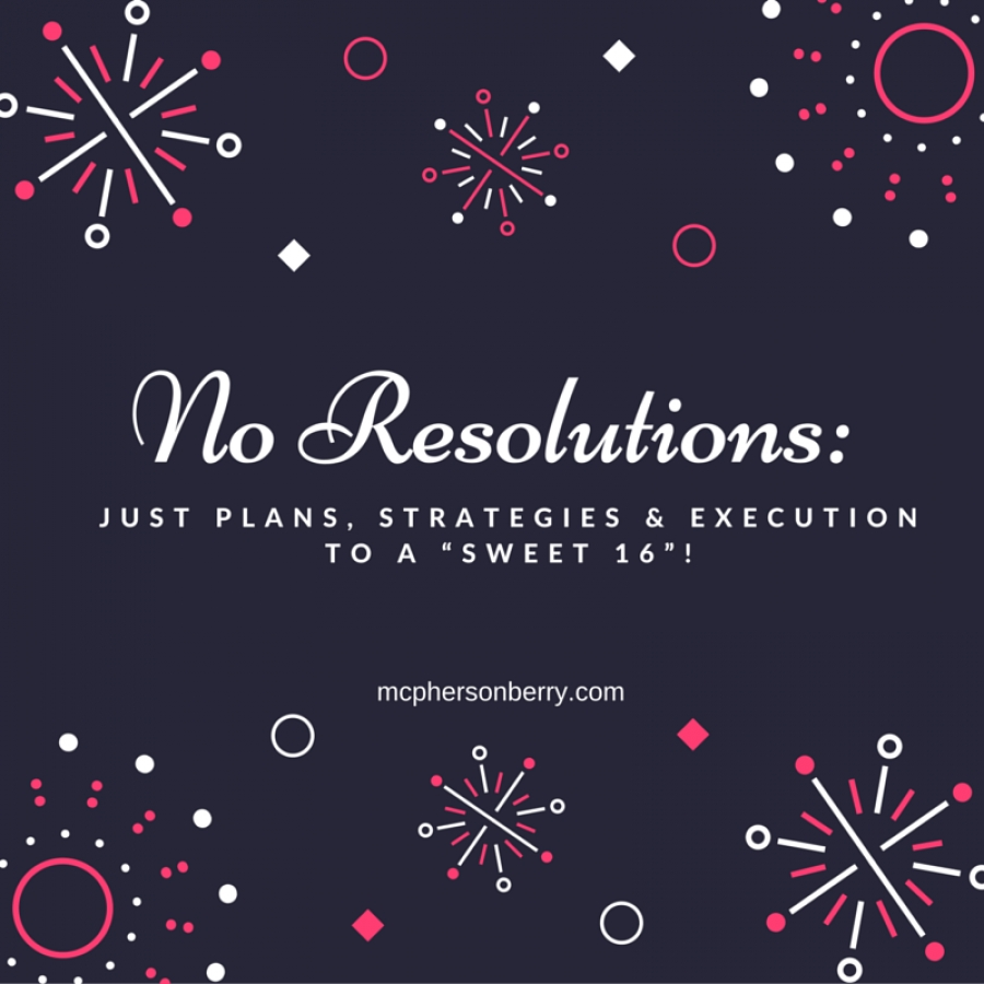 No resolutions
